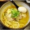 麺屋宗 - 料理写真:味玉肉まきそば(塩) 880円 具と麺を一緒にほおばるとうまうま♪