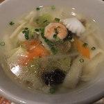 35897997 - 五目刀削麺(セットで890円)