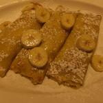 エッグスンシングス - サワークリームなし バナナクレープ