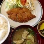 いわなが - 魚フライ定食