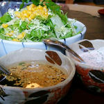 35915587 - サラダ(仁亭風焼カツ)