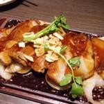 九州黒太鼓 - 豚肩ロース肉の豪快トンテキ
