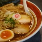 ソラノイロ ジャパニーズ スープ ヌードル フリー スタイル - 中華そばのアップ