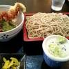 蕎麦 季 - 料理写真:『穴子天丼セット』¥900-