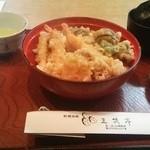 三笑亭 - 料理写真:天丼 ¥1600