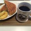 ロースターコースター - 料理写真:Aセット ソーセージパニーニ&コーヒー(オローラ)