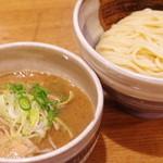 渡なべ - 味玉つけ麺