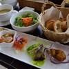 クラムボン - 料理写真:【ランチ】前菜、サラダ、パン、スープ