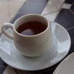 クラムボン - サービスのお茶(テラス席が寒かったので)