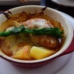 クラムボン - チキンのトマト煮(ランチメイン)