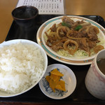 醤醤 - 肉炒め定食