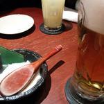 とり鉄 - ビール&お通し