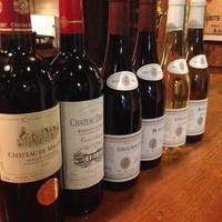 オーナーソムリエ厳選のワイン