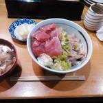 鈴女 - 銚子丼セット1000円