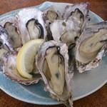 海宝 - 料理写真:H27・2訪問 焼き牡蠣