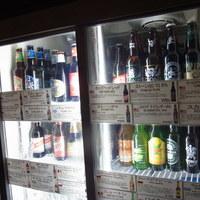 常時25種類以上のビールを取り揃えています。