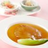 景山 - 料理写真:フカヒレの姿煮 青菜添え