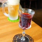 木の実 - グラスワイン赤300円