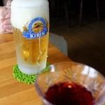 木の実 - 生ビール520円