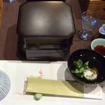 ホテルニュー水戸屋 - 料理写真:食前酒 レモン酒