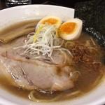 麺屋 あさ蔵 - 味玉煮干醤油(800円)