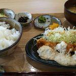 稲の花 - チキン南蛮定食(鶏3個)