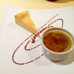 レストランMOMO - ランチのデザートセット(2013年3月訪問)