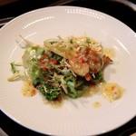 横浜 うかい亭 - 北寄貝のサラダ