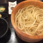丸亀製麺 - 釜揚げうどん並