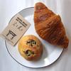 空と麦と - 料理写真:クロワッサンと黒豆パン