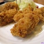 とんかつ恵比寿 - 牡蠣フライ