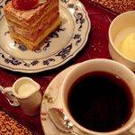 オクダローストカフェ - 生ケーキのセット