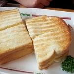 コメダ珈琲店 - エッグトースト520エン