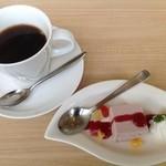 ちかゑ - 【ビストロクロケットランチ】ドリンク&デザート