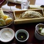 桃香 - 天ざる蕎麦