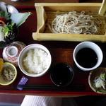 桃香 - 桃香セット(二の膳+ざる蕎麦)