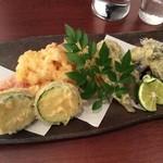 屯 - 旬の野菜の天ぷら