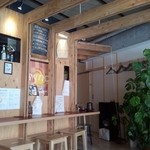sync - お洒落なカフェ風の店内