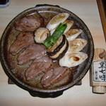 更科すず季 - 料理写真:鴨焼き