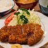 とんき - 料理写真:ロースかつ定食【2015年3月】