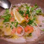 ボッソ - 旬の鮮魚のカルパッチョ【2015年3月】