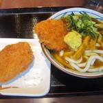 丸亀製麺 - 2015/2 Wカツカレーうどん