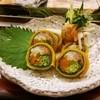 丸八鮨 - 料理写真:見た目も鮮やかな芸術巻