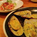 サニイサイド - ムール貝オーブン焼き