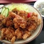 中華 きりん - 揚げ鶏ネギソース丼 700円