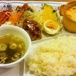 レストラン ポポロ - ポポロセット780円