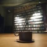 JAZZ茶房 靑猫 - その他写真:青猫コーヒーとCDラック