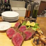 36162581 - ウリの熟成肉のビステッカ。