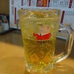 興隆菜館 - マカ&すっぽんハイボール:480円