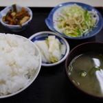 漁火亭 - 1188えん『金目煮魚定食』2015年3月